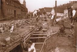 853-Greinersbächel-Ende-des-Dorfbaches1955